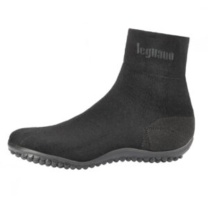 Leguano Premium Business Black Barefoot Shoes