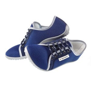 Blue Barefoot Shoes