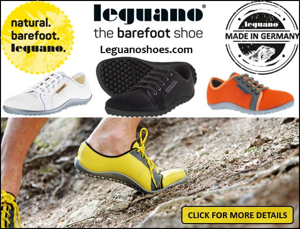 Zapatillas de trail running descalzas de Leguano