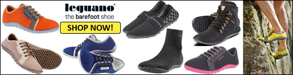 Zapatos descalzos para hombre
